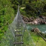 Hängebrücke über den Buller River