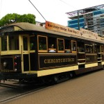 Nostalgische Tram in Christchurch