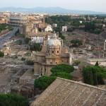 Kolosseum und Forum Romanum